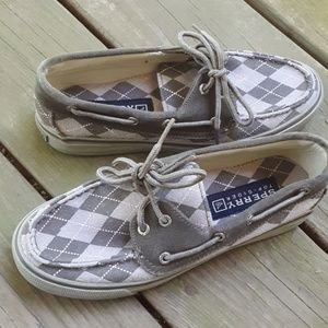 Sperry Topsider Loafers Argyle Shoes
